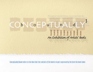 Conceptually Bound 3 exhibition catalog