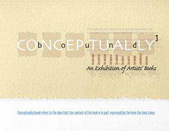 Conceptually Bound 3 exhibition catalog